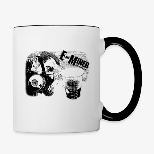 E Miner Series Design 1 - Contrast Coffee Mug