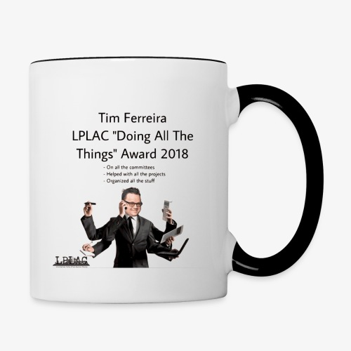 LPLAC Doing All The Things Award - Contrast Coffee Mug