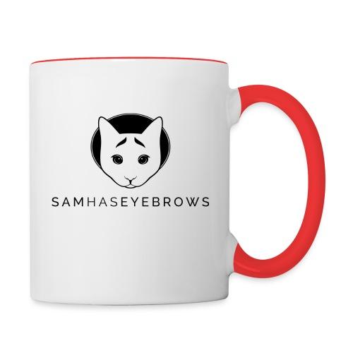 sam - Contrast Coffee Mug