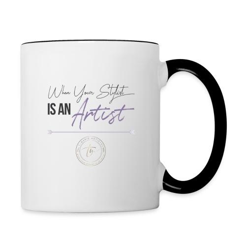 t Marie Artistry - Contrast Coffee Mug