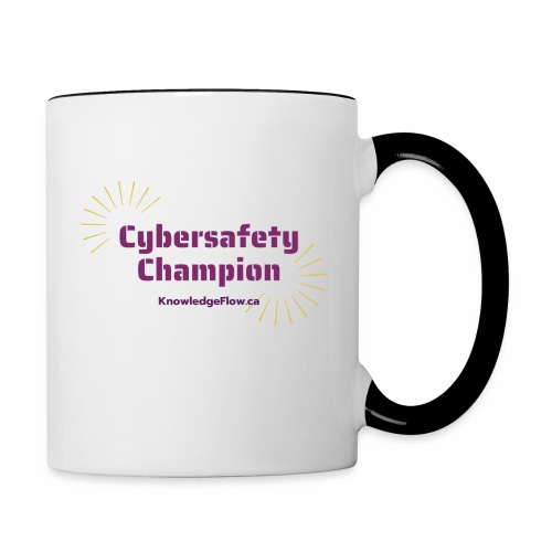 Cybersafety Champion - Contrast Coffee Mug