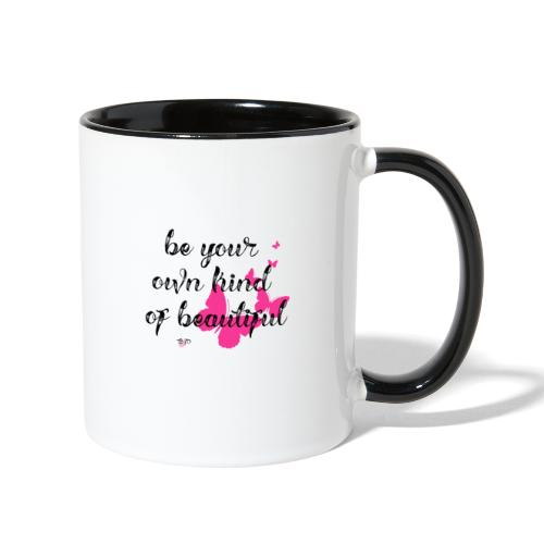 Be Your Own Beautiful - Contrast Coffee Mug
