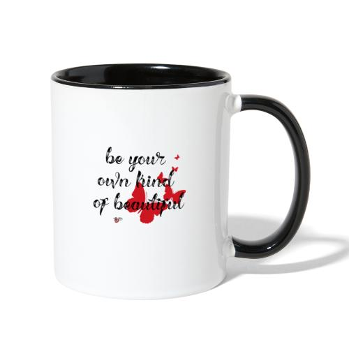 Be Your Own Beautiful_Red - Contrast Coffee Mug
