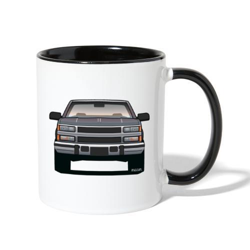 Design Icon: American Bowtie Silver Urban Truck - Contrast Coffee Mug