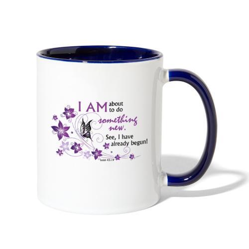 Something new - Contrast Coffee Mug