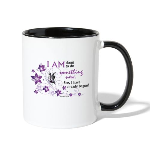 Something new - Contrast Coffee Mug