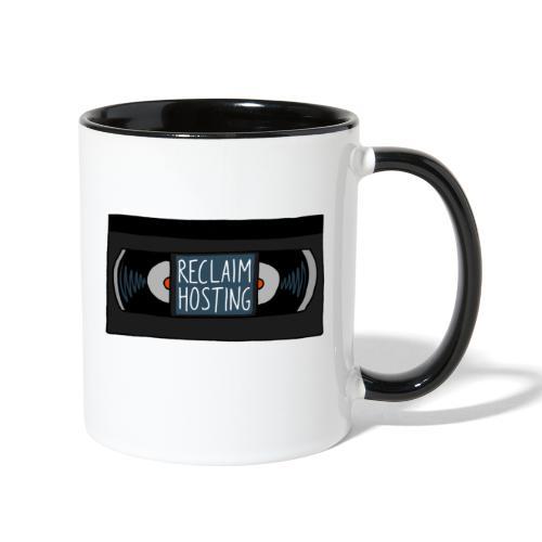 Reclaim Hosting VHS - Contrast Coffee Mug