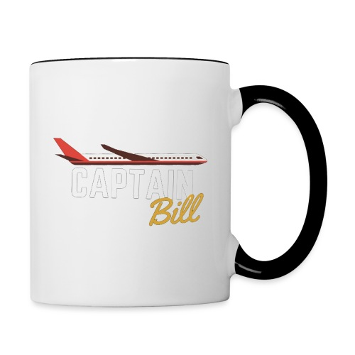 Captain Bill Avaition products - Contrast Coffee Mug