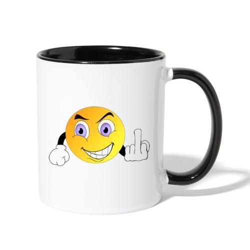 Fuck Off - Contrast Coffee Mug