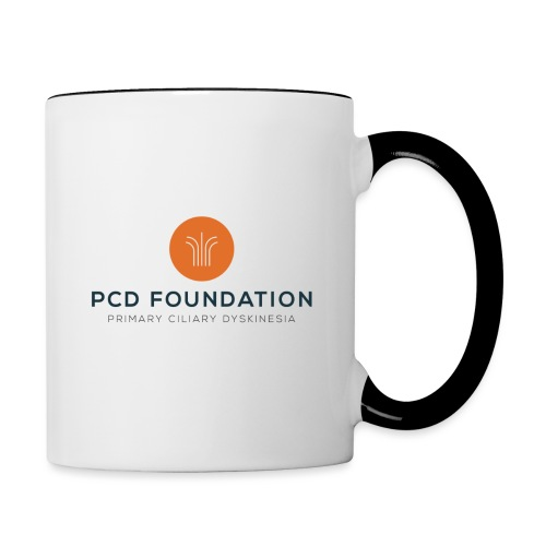 PCDF full logo - Contrast Coffee Mug