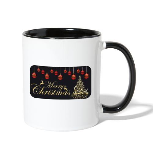 Merry Christmas - Contrast Coffee Mug