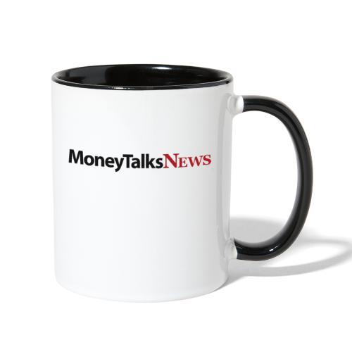 Money Talks News Logo - Contrast Coffee Mug