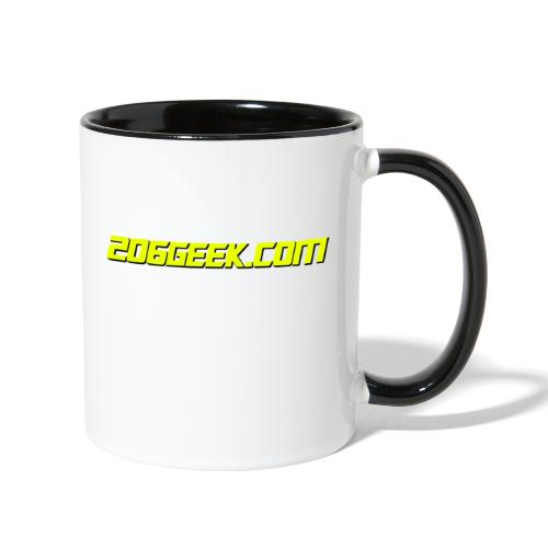 206geek.com - Contrast Coffee Mug