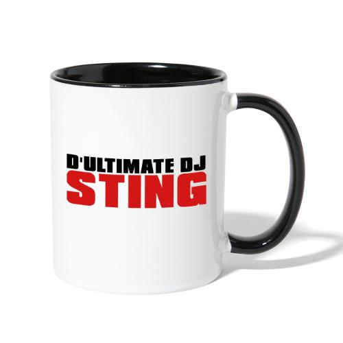 D Ultimate Sting LOGO - Contrast Coffee Mug
