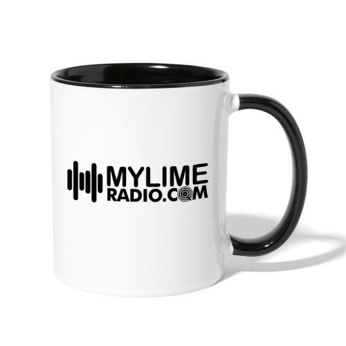 MyLimeRadio ALT LOGO (Solid) - Contrast Coffee Mug