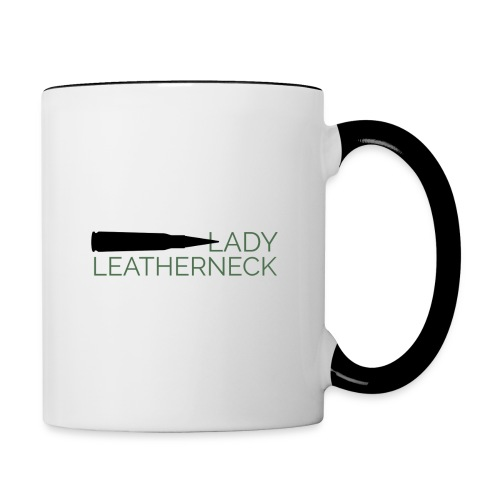 Lady Leatherneck - Contrast Coffee Mug