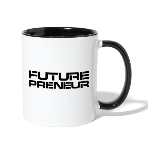 Futurepreneur (1-Color) - Contrast Coffee Mug