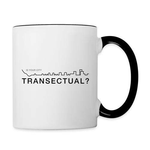 TransectLogo - Contrast Coffee Mug