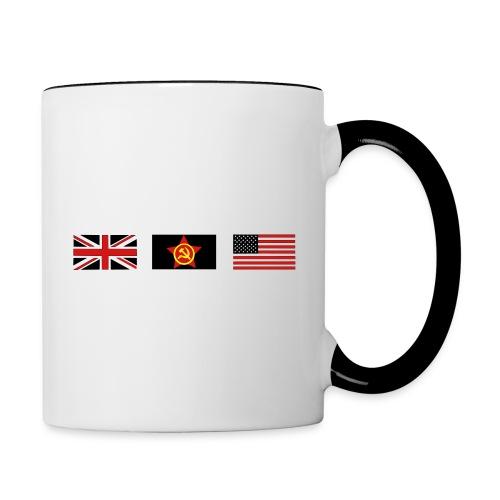 3 ALLIES flags - Contrast Coffee Mug