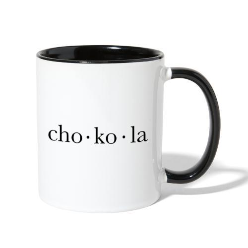 Chokola Mug - Contrast Coffee Mug