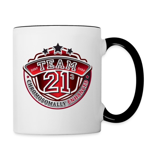 Team 21 - Chromosomally Enhanced (Red) - Contrast Coffee Mug