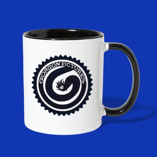 Gorgon logo Black - Contrast Coffee Mug