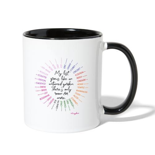 Rose's Garden - Contrast Coffee Mug