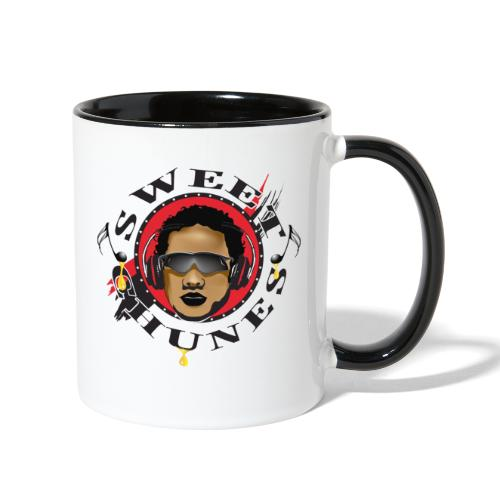 DJ Sweet Chunes LOGO - Contrast Coffee Mug