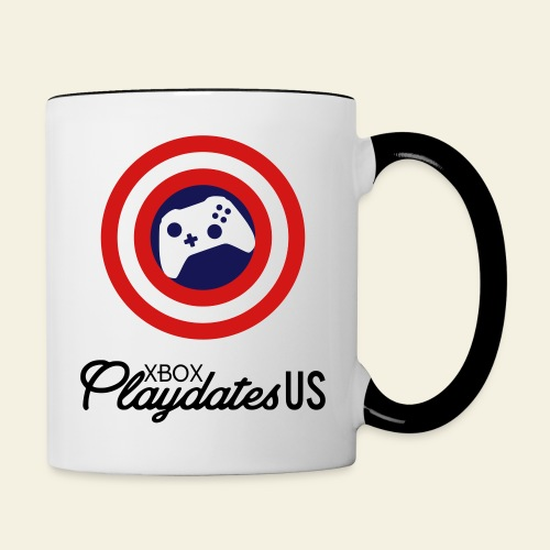 Playdates Logo Stacked - Contrast Coffee Mug