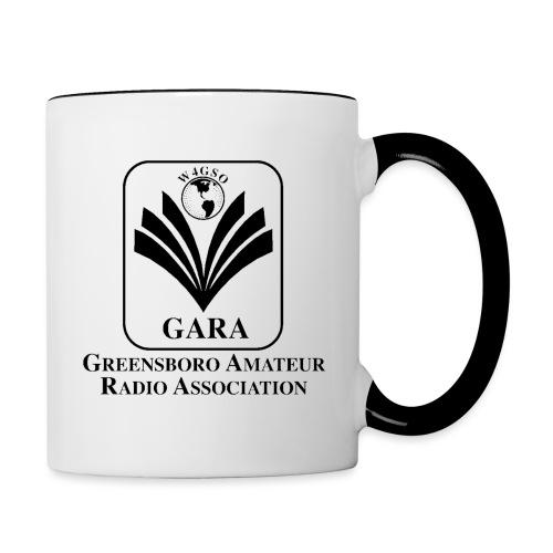 GARA Black Transparent png - Contrast Coffee Mug