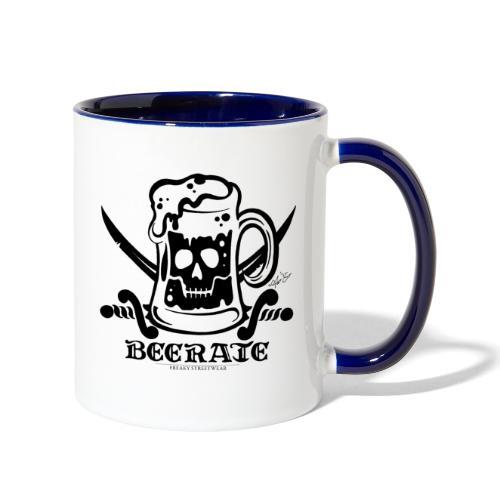 Beerate - black - Contrast Coffee Mug