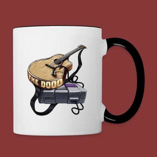 The Dooo Retro Logo - Contrast Coffee Mug