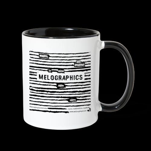 MELOGRAPHICS | Blackout Poem - Contrast Coffee Mug