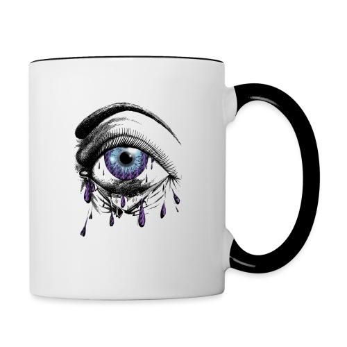 Lightning Tears - Contrast Coffee Mug