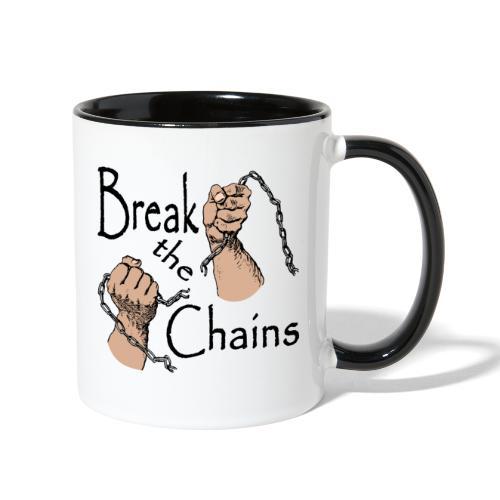 Break The Chains - Contrast Coffee Mug