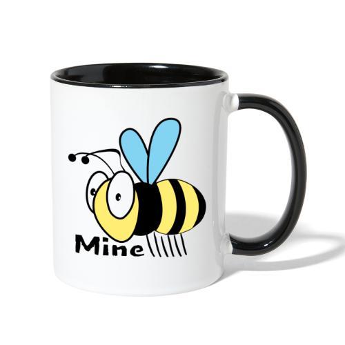 Bee Mine - Contrast Coffee Mug