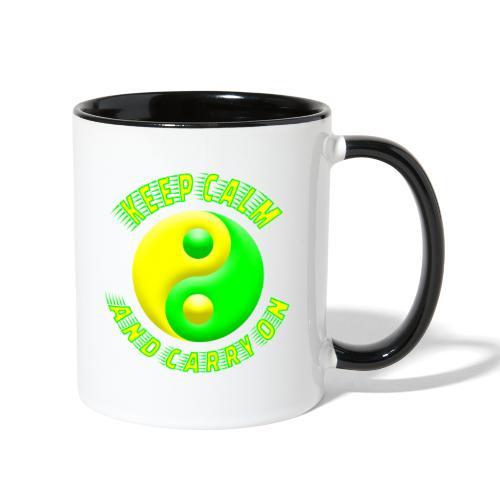 Keep Calm - Contrast Coffee Mug