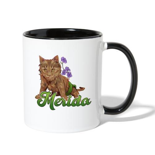 Merida Flowers - Contrast Coffee Mug