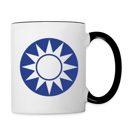 China Symbol - Axis & Allies - Contrast Coffee Mug