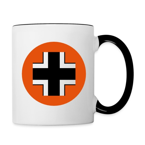 Germany Symbol - Axis & Allies - Contrast Coffee Mug
