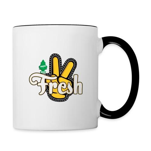 2Fresh2Clean - Contrast Coffee Mug