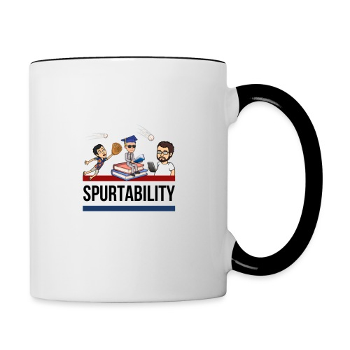 Spurtability Black Text - Contrast Coffee Mug