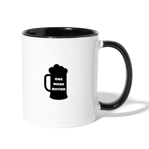 ONE MORE ROUND / AMBER EYES DOUBLE SIDED - Contrast Coffee Mug