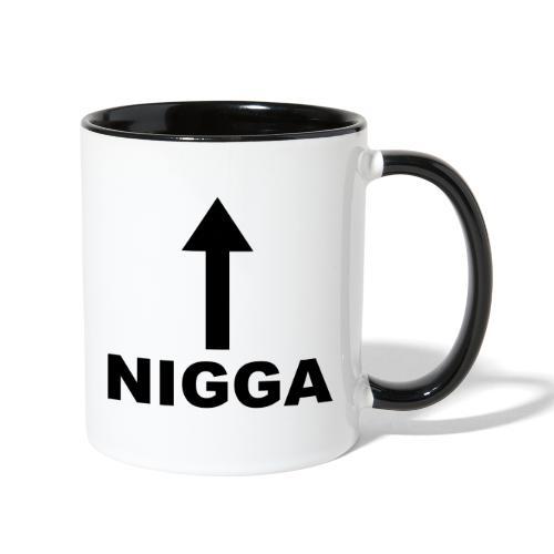 NIGGA - Contrast Coffee Mug
