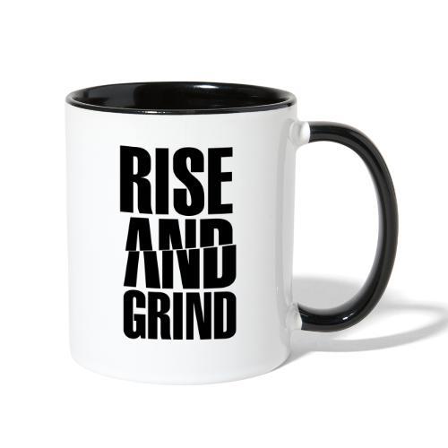 Rise & Grind - Contrast Coffee Mug