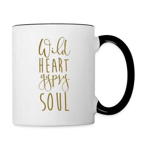 Cosmos 'Wild Heart Gypsy Sould' - Contrast Coffee Mug