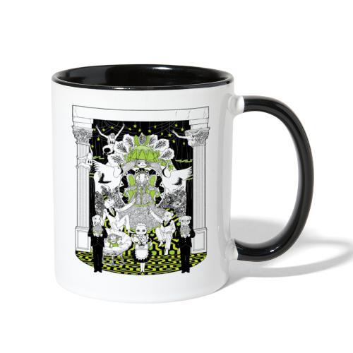 cardamom chai tee - Contrast Coffee Mug