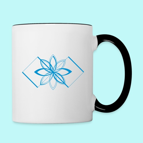 Colour Me DAIZEY Blue - Contrast Coffee Mug