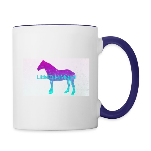 LittleBabyMiguel Products - Contrast Coffee Mug