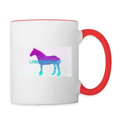 LittleBabyMiguel Products - Contrast Coffee Mug